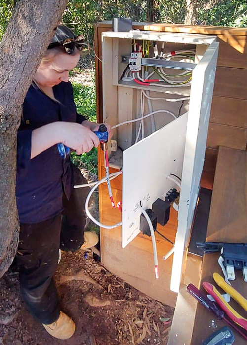 Amy new group metering installed by Melba Electrical Services