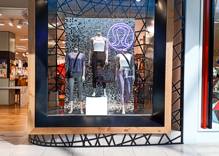 Lulu shop window- repair light by Melba Electrical Services