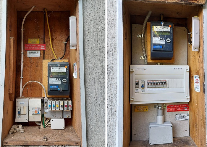 Trompf- Switchboard- Side by Side installed by Melba Electrical Services