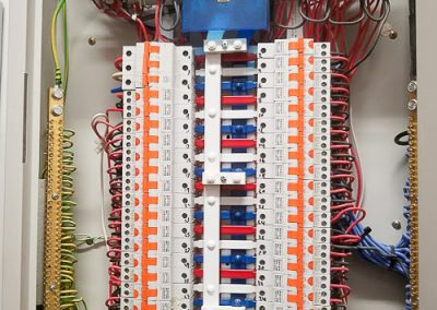 Commercial switchboard installed by Melba Electrical Services