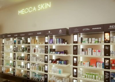 Mecca- shop lighting installed by Melba Electrical Services