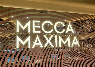 Mecca sign- repaired installed by Melba Electrical Services