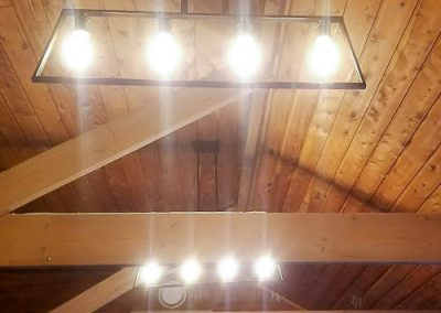 country lighting installed by Melba Electrical Services