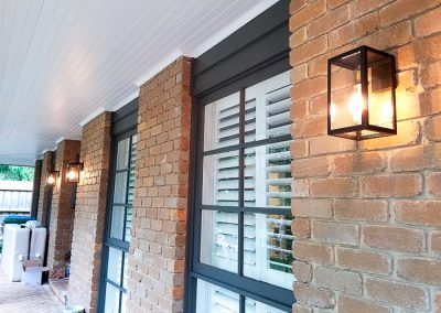 exterior lighting installed by Melba Electrical Services