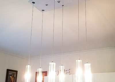 kitchen lighting installed by Melba Electrical Services