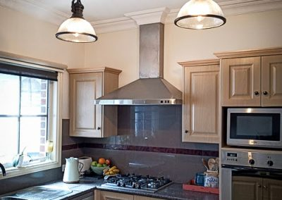 new kitchen lighting installed by Melba Electrical Services