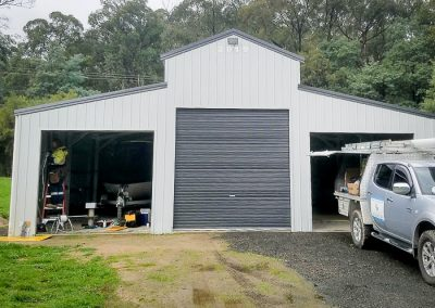 shed wiring installed by Melba Electrical Services
